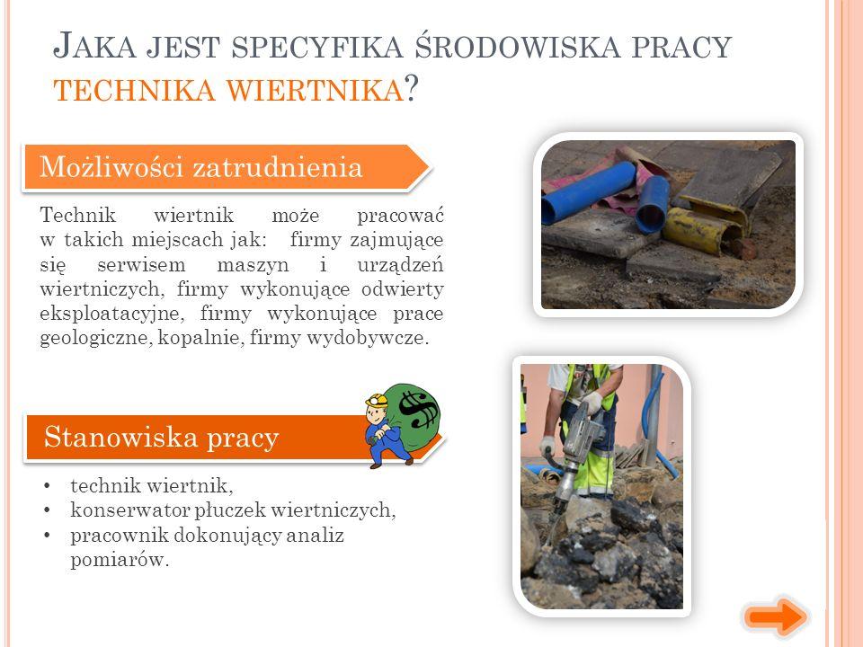1.Studia wyższe zawodowe (licencjat), np. Materiałoznawstwo, Geologia.