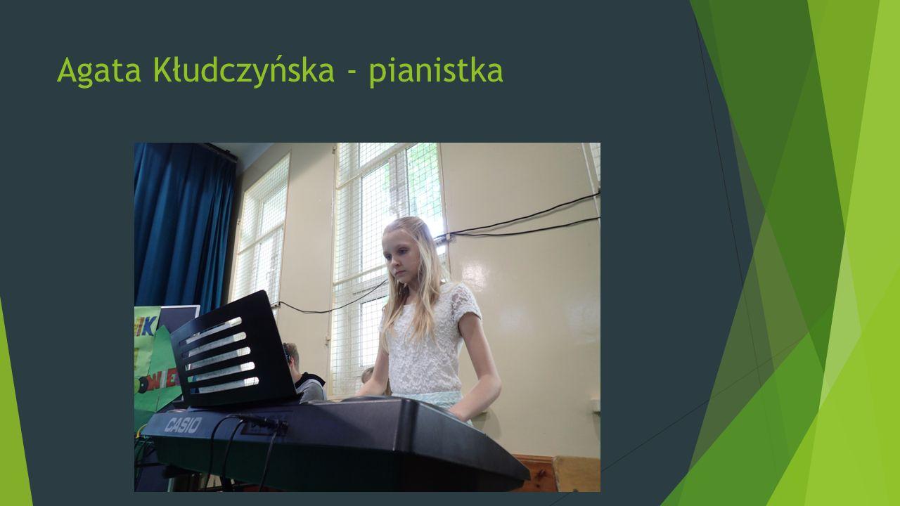 Agata Kłudczyńska - pianistka