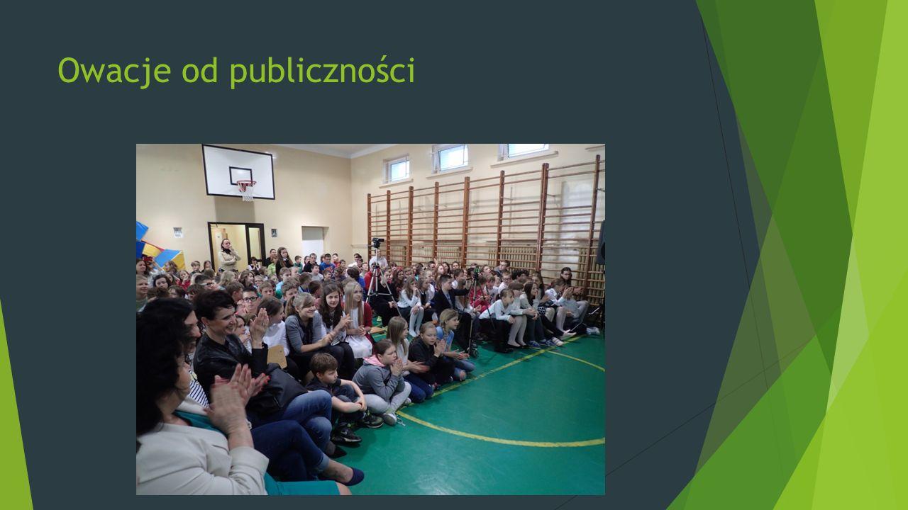 Owacje od publiczności
