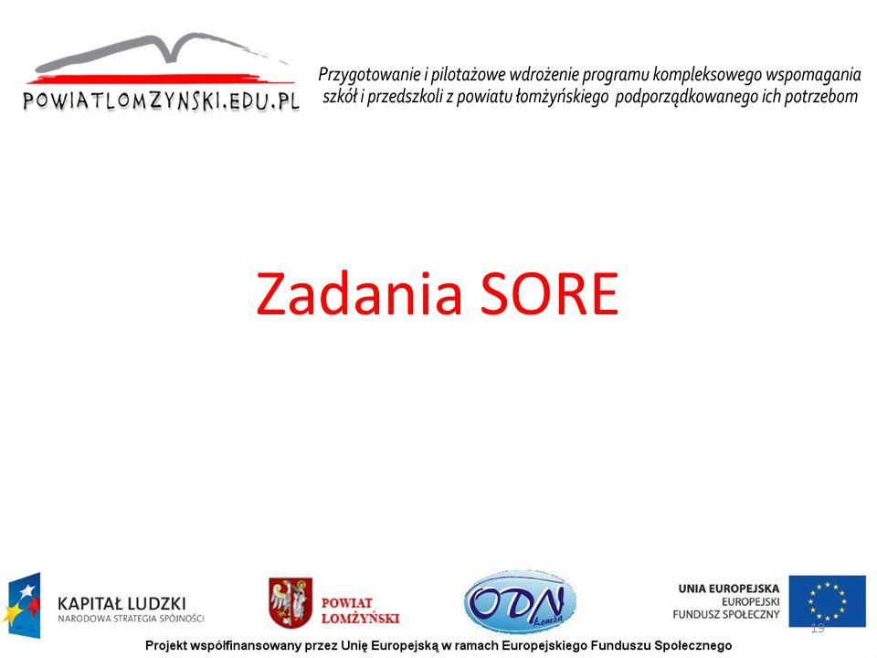 Zadania SORE 19