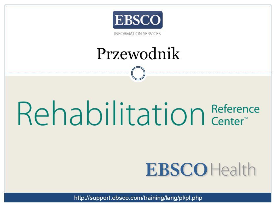 Rehabilitation Reference Center to kompleksowy zbiór informacji opartych na dowodach dla specjalistów z zakresu rehabilitacji.