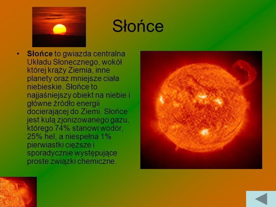 Co to jest Układ Słoneczny? Układ Słoneczny to układ planetarny. Składa się ze Słońca, ciał niebieskich, czyli ośmiu planet, 166 znanych księżyców, pi