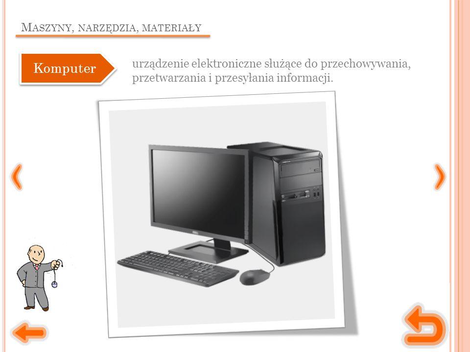 M ASZYNY, NARZĘDZIA, MATERIAŁY urządzenie mechaniczno-optyczne, za pomocą którego tekst, zdjęcie lub jakikolwiek inny dokument na papierze możemy przekształcić w plik komputerowy.