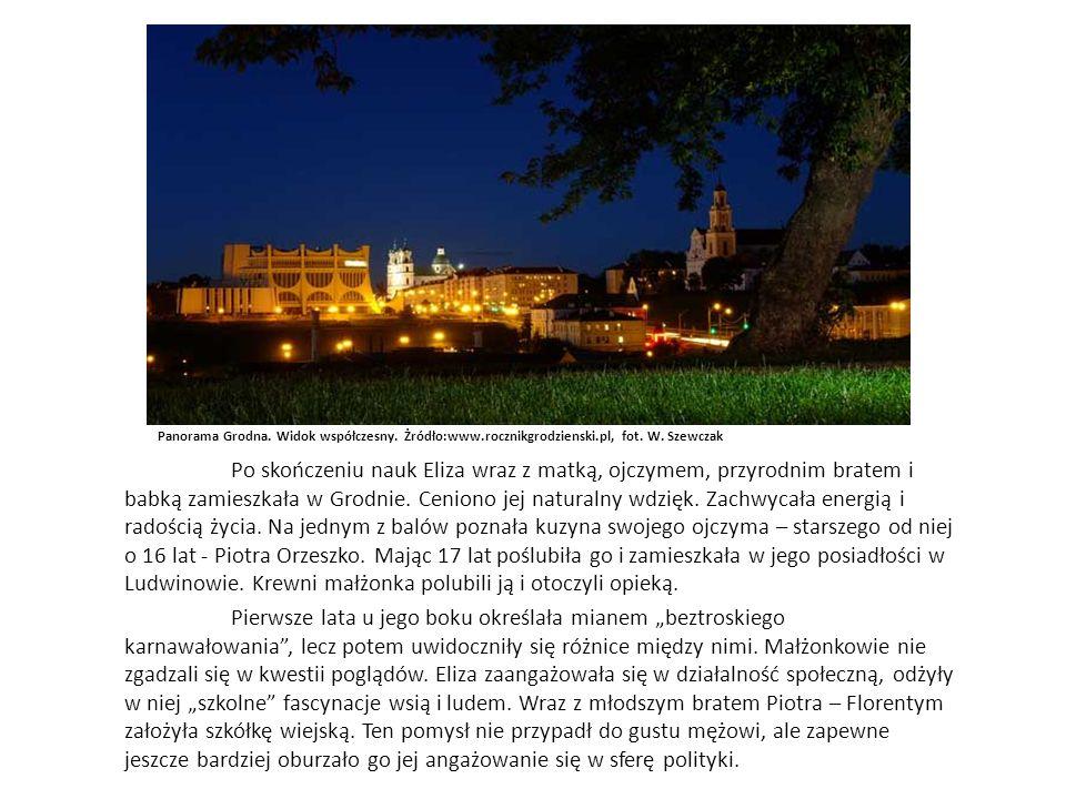 Panorama Grodna. Widok współczesny. Żródło:www.rocznikgrodzienski.pl, fot.