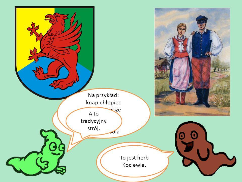 Bory Tucholskie zamieszkują Kociewiacy.