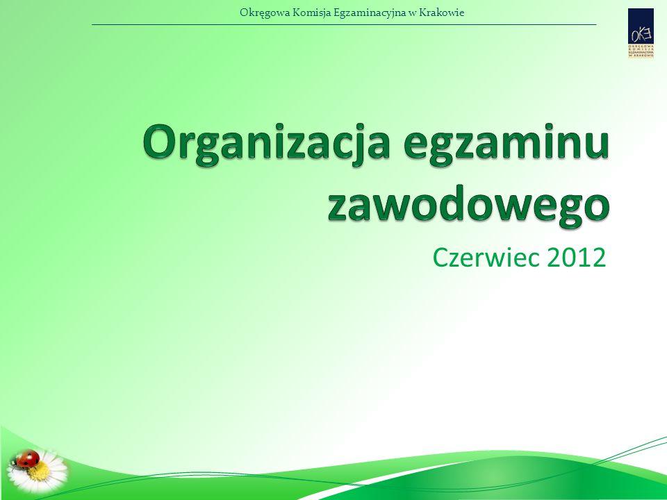 Okręgowa Komisja Egzaminacyjna w Krakowie Powoływanie ZNEP Ostateczny termin - 18 maj 2012 r.