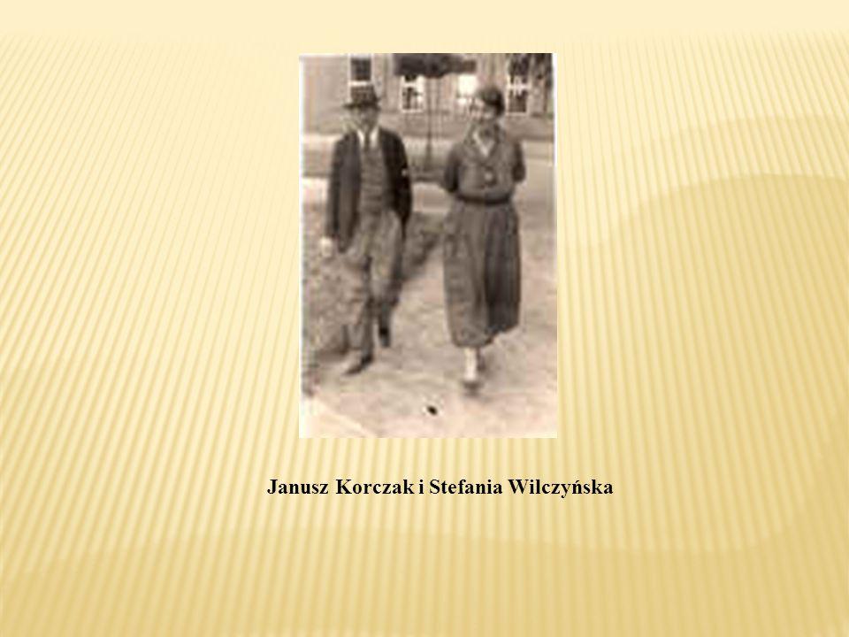 Janusz Korczak i Stefania Wilczyńska