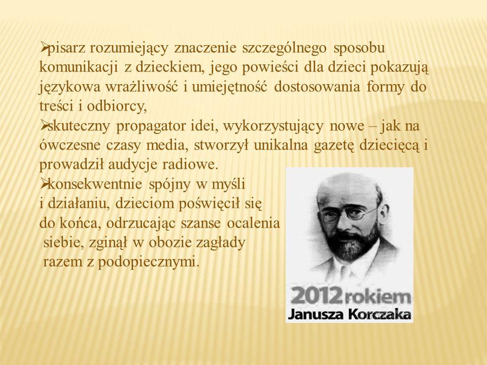 Janusz Korczak ze swoimi studentami Korczak miał wielu zwolenników swoich idei wśród swoich studentów, jego wykłady cieszyły się wielką popularnością.