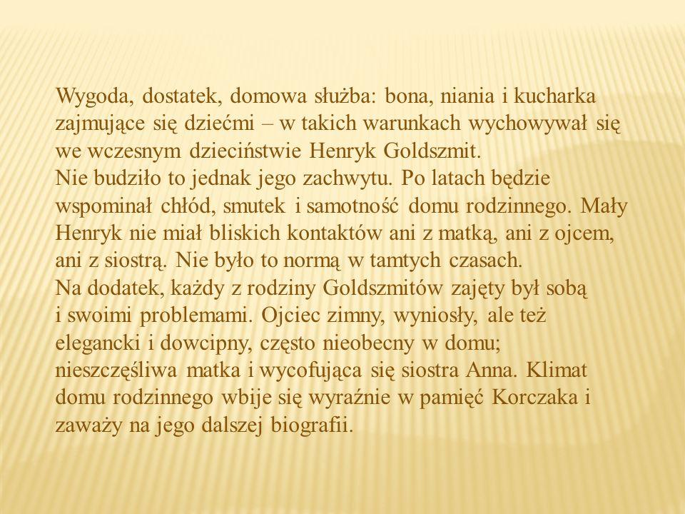 Janusz Korczak zapisał się w pamięci potomnych przede wszystkim jako autor wielu powieści, publikacji i wypowiedzi radiowych.