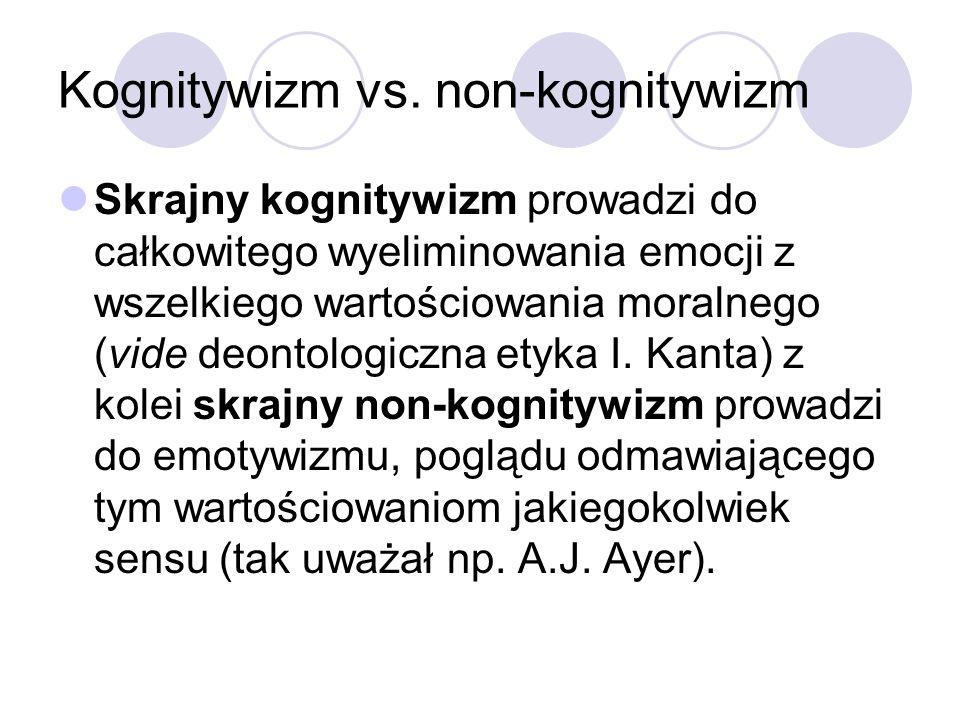Kognitywizm vs.