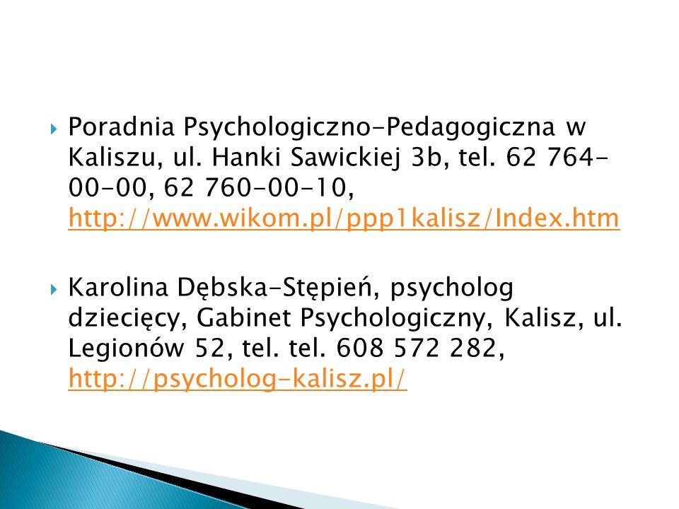  Poradnia Psychologiczno-Pedagogiczna w Kaliszu, ul.