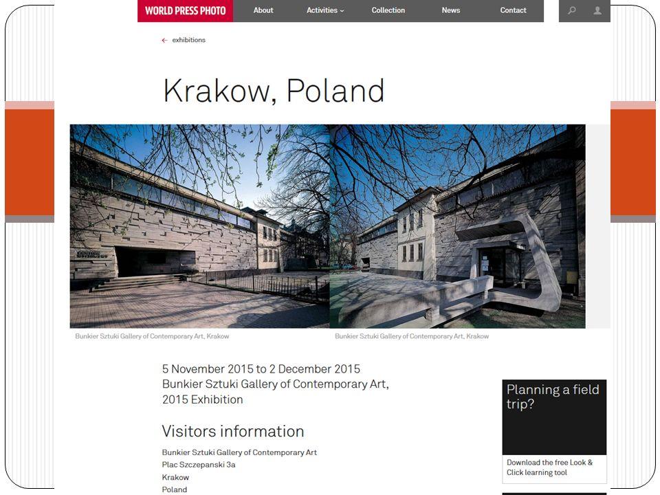 Rozpoczęcie wystawy WORLD PRESS PHOTO – Kraków