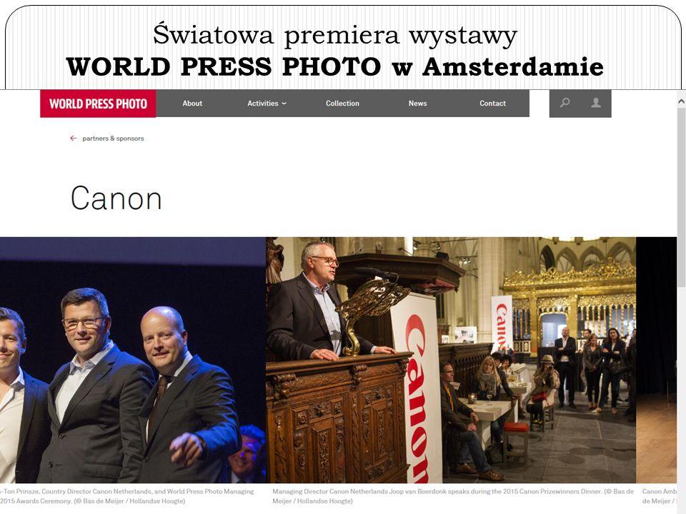 WORLD PRESS PHOTO w Krakowie - otwarcie organizatora z Holandii