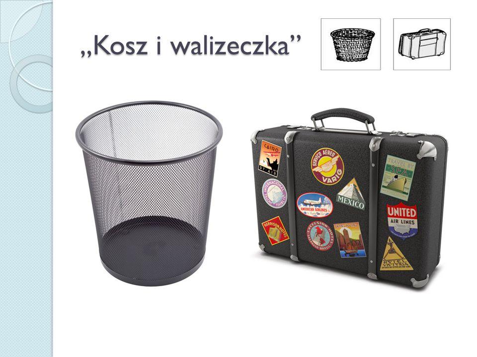 """""""Kosz i walizeczka"""""""
