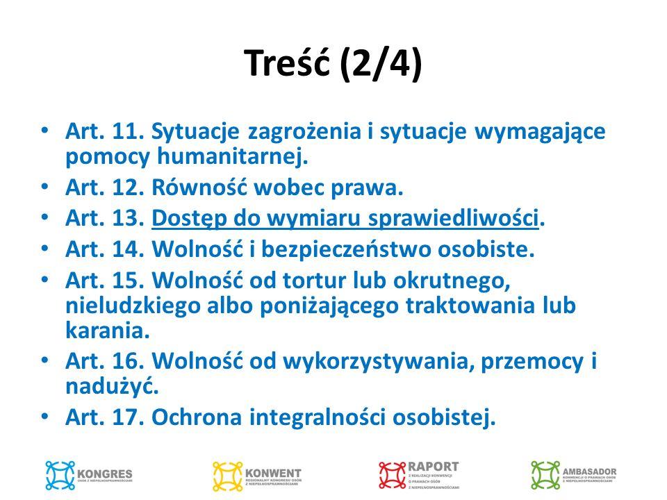 Treść (3/4) Art.18. Swoboda przemieszczania się i obywatelstwo.