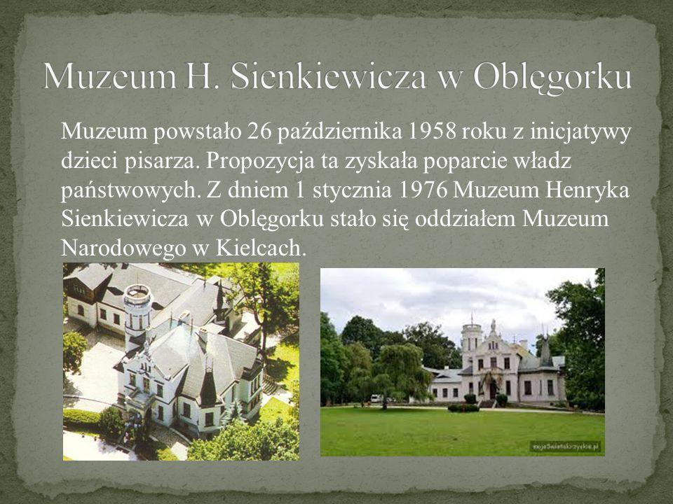 Muzeum powstało 26 października 1958 roku z inicjatywy dzieci pisarza. Propozycja ta zyskała poparcie władz państwowych. Z dniem 1 stycznia 1976 Muzeu