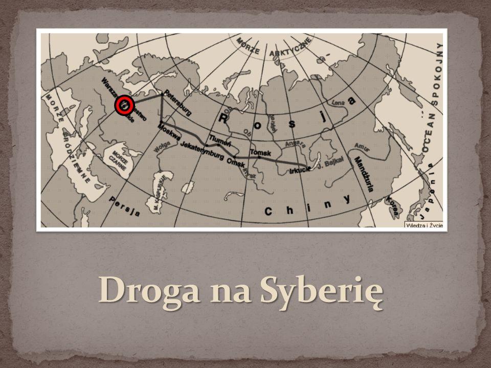 """Film:  Andrzej Zaorski """"Syberiada polska  Peter Weir """"Niepokonani ."""