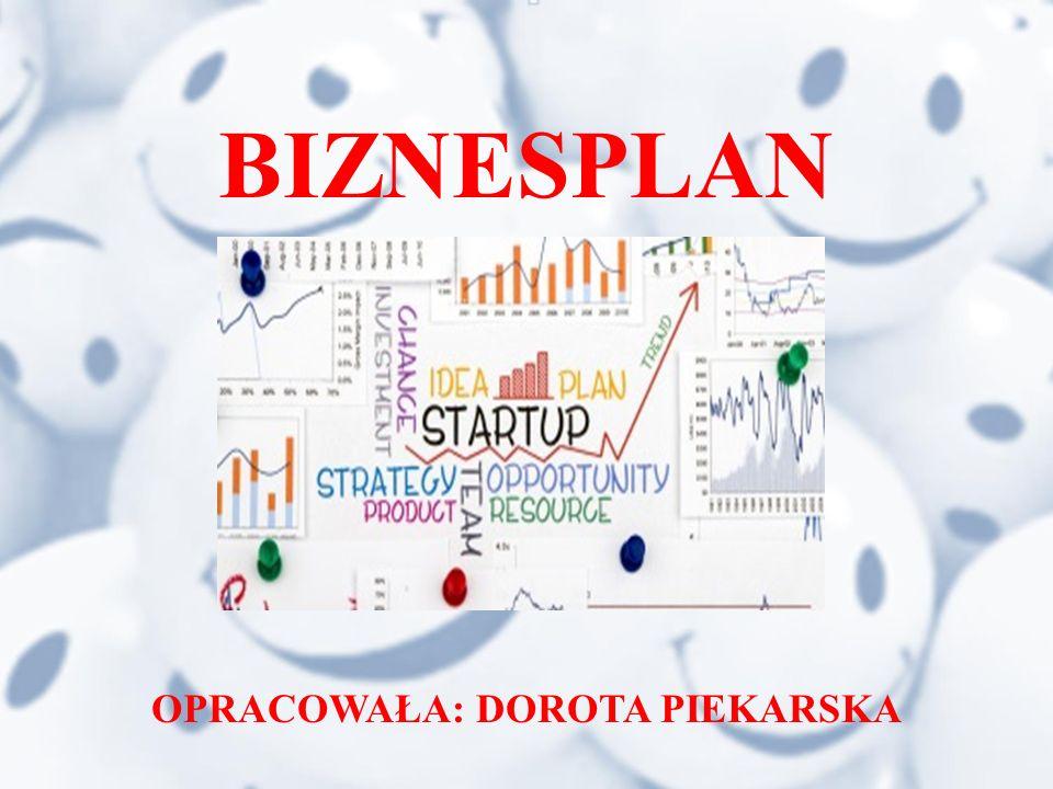 Biznesplan jest dokumentem zawierającym cele firmy oraz sposoby ich osiągania, z uwzględnieniem uwarunkowań finansowych, marketingowych, organizacyjnych i technologicznych.