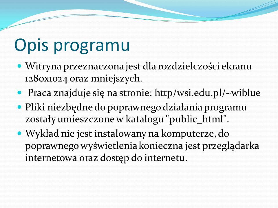 Tworzenie wykładu Podczas tworzenia wykładu internetowego, potrzebne jest umiejętne wykorzystanie zarówno odpowiednich narzędzi informatycznych, jak i ujęcie tematu w ciekawy i interesujący sposób.