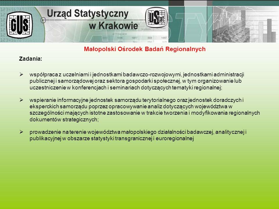 Zadania:  współpraca z uczelniami i jednostkami badawczo-rozwojowymi, jednostkami administracji publicznej i samorządowej oraz sektora gospodarki spo