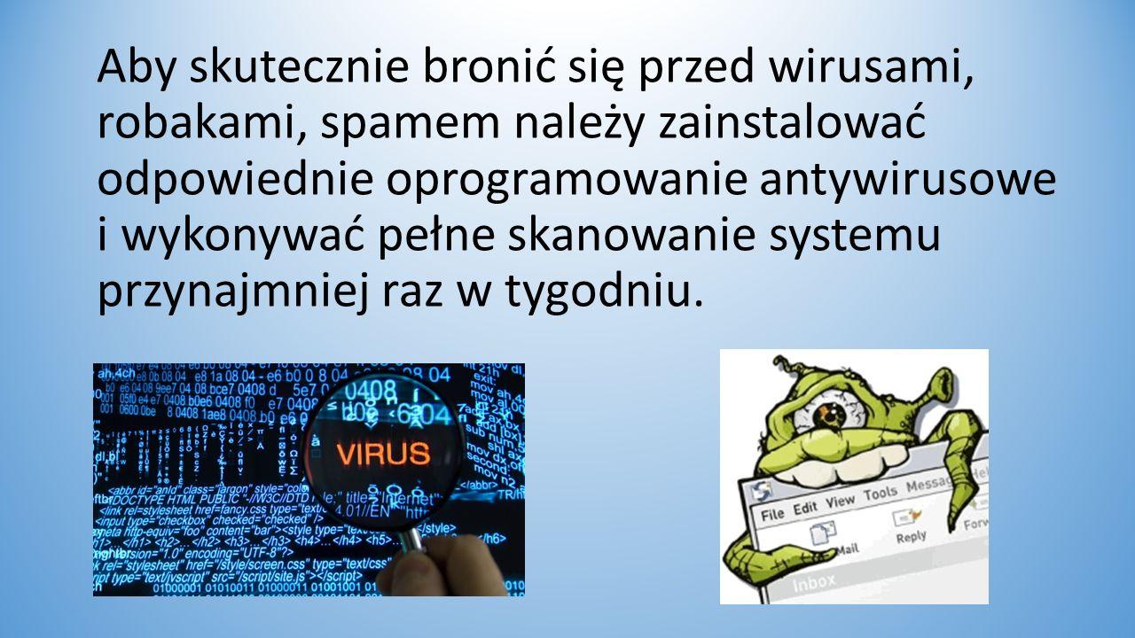 Niebezpieczeństwa w sieci: