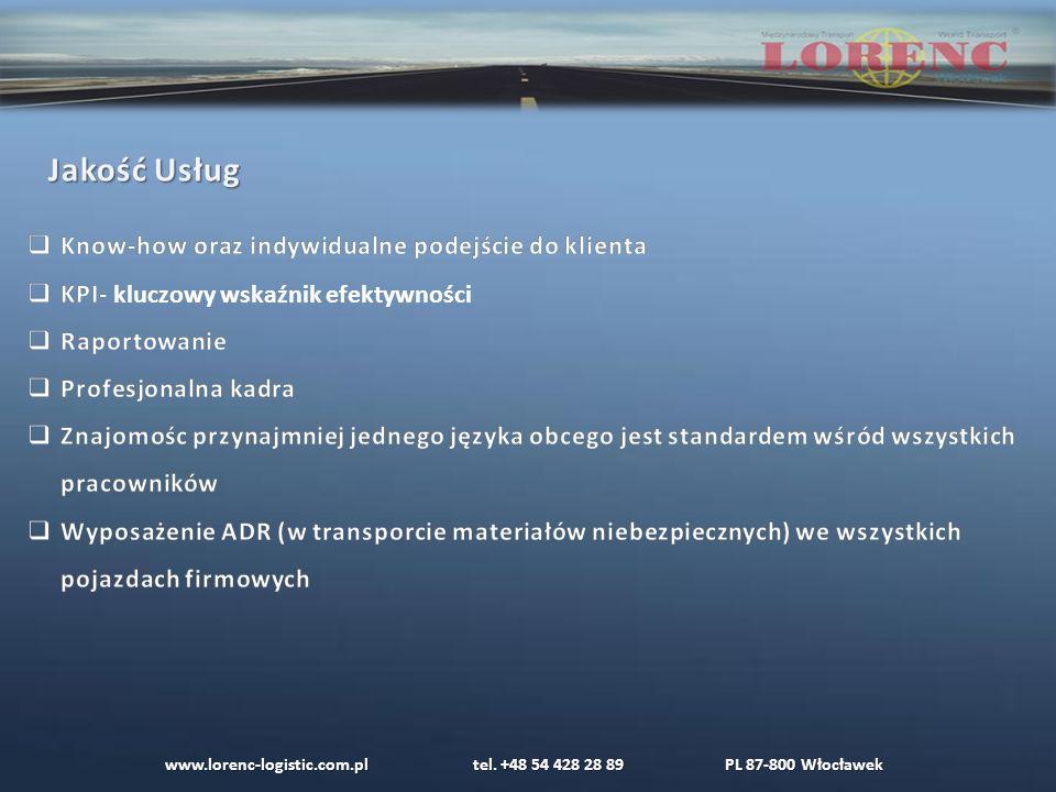 www.lorenc-logistic.com.pl tel. +48 54 428 28 89 PL 87-800 Włocławek