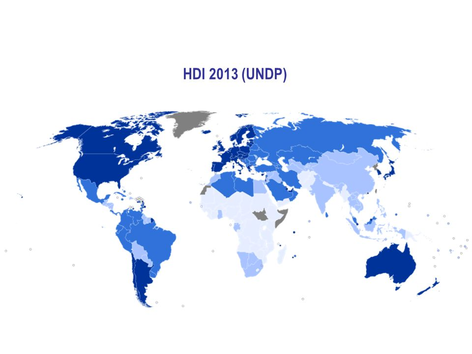 HDI 2013 (UNDP)