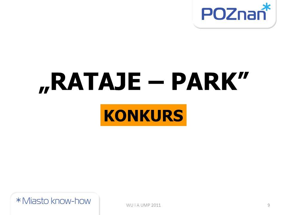 """WU i A UMP 20119 """"RATAJE – PARK KONKURS"""
