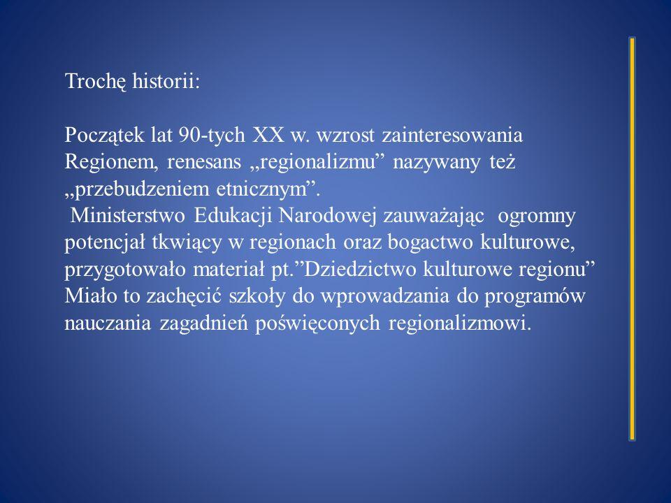 Trochę historii: Początek lat 90-tych XX w.