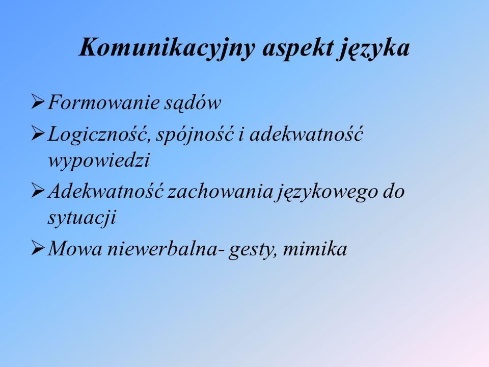 Złożone operacje językowe  Liczenie  Czytanie  Pisanie