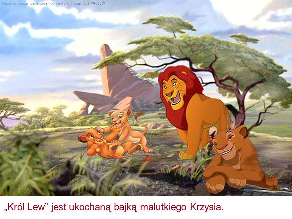 """""""Król Lew"""" jest ukochaną bajką malutkiego Krzysia. http://youngcubsimba.deviantart.com/art/lionking-masking-2-78522303"""