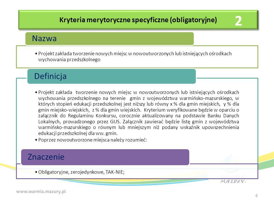 Dziękuję za uwagę Dorota Kopeć Zastępca Dyrektora Departamentu Polityki Regionalnej Urząd Marszałkowski Województwa Warmińsko-Mazurskiego w Olsztynie 27