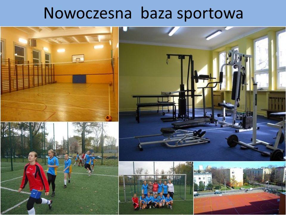 Nowoczesna baza sportowa