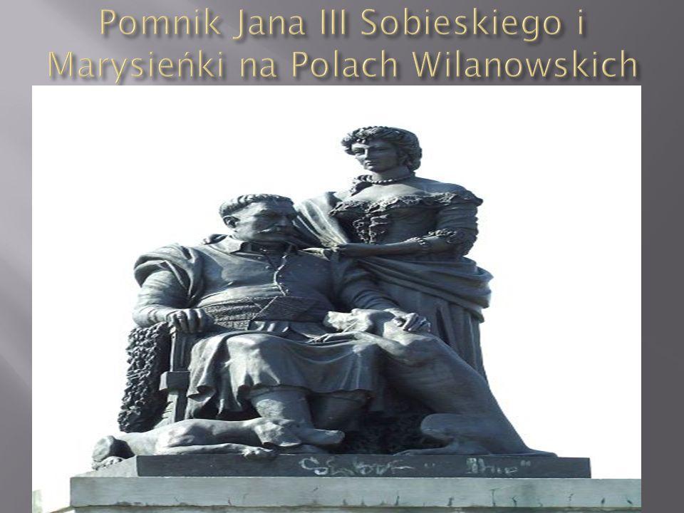  Pomnik Jana III Sobieskiego w Ogrodzie Strzeleckim w Krakowie przy ul.