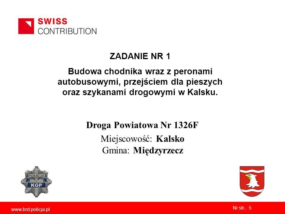 Nr str. 6 www.brd.policja.pl