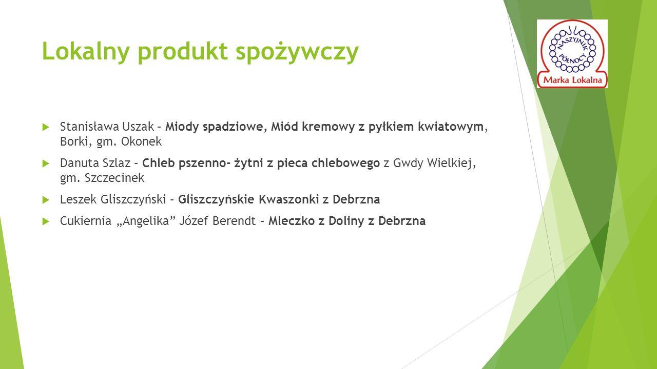 Lokalny produkt spożywczy  Stanisława Uszak – Miody spadziowe, Miód kremowy z pyłkiem kwiatowym, Borki, gm.