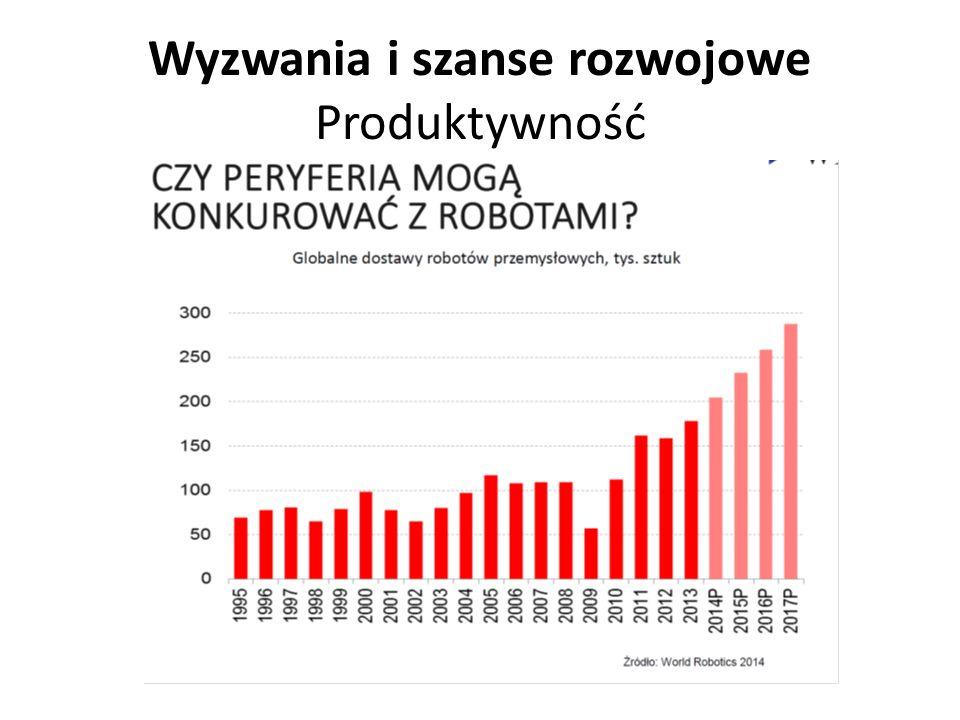 Wyzwania i szanse rozwojowe Produktywność