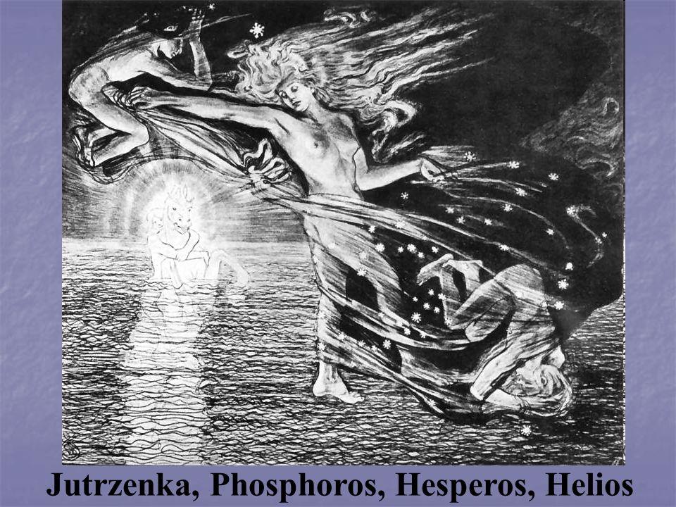 Jutrzenka, Phosphoros, Hesperos, Helios