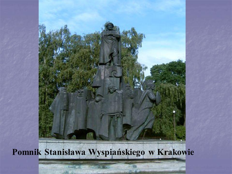 Pomnik Stanisława Wyspiańskiego w Krakowie