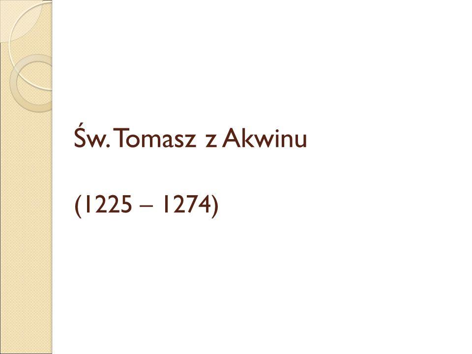 """św.Tomasz – Summa theologiae """"Prawo jest to jakaś norma i miara ludzkiego postępowania."""