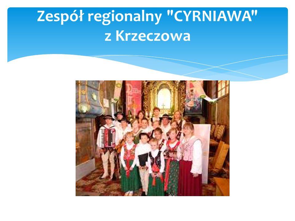 Zespół regionalny TOPORZANIE z Tenczyna