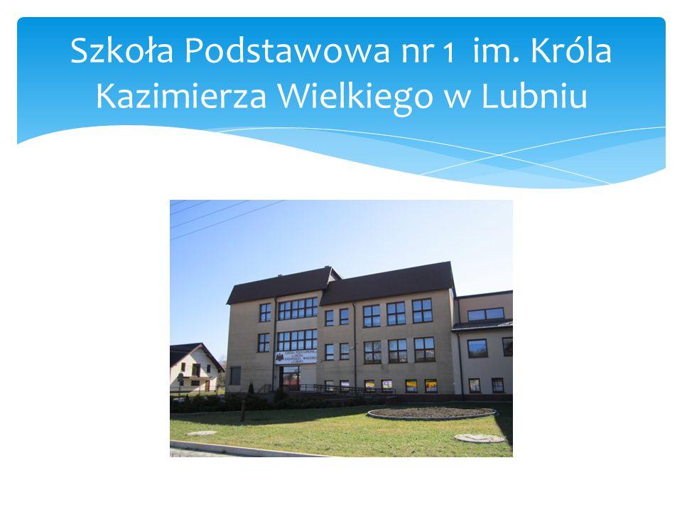 Plac zabaw obok szkoły w Lubniu