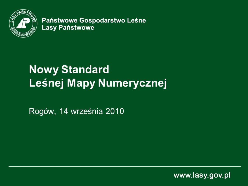 Nowy Standard Leśnej Mapy Numerycznej Rogów, 14 września 2010