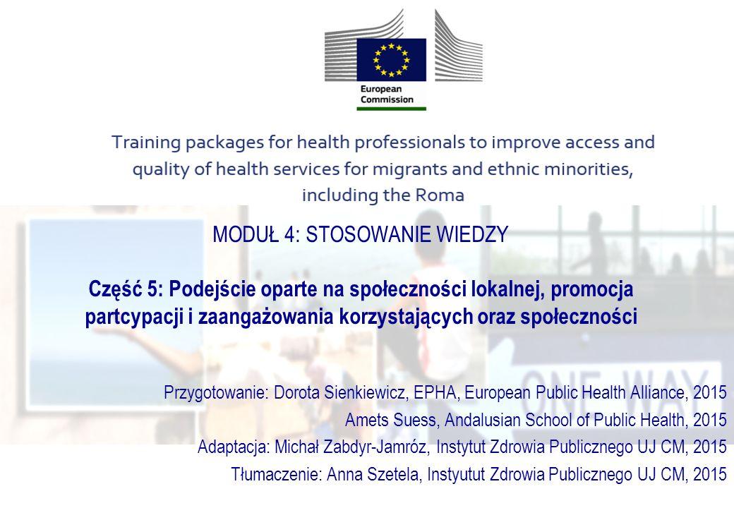 Projekty społecznościowe: Prewencja i zmniejszanie nierówności w zdrowiu Międzykulturowa prewencja w społeczności lokalnej MiMi, Mit Migranten für Migranten, Ethno-Medizinisches Zentrum e.V.