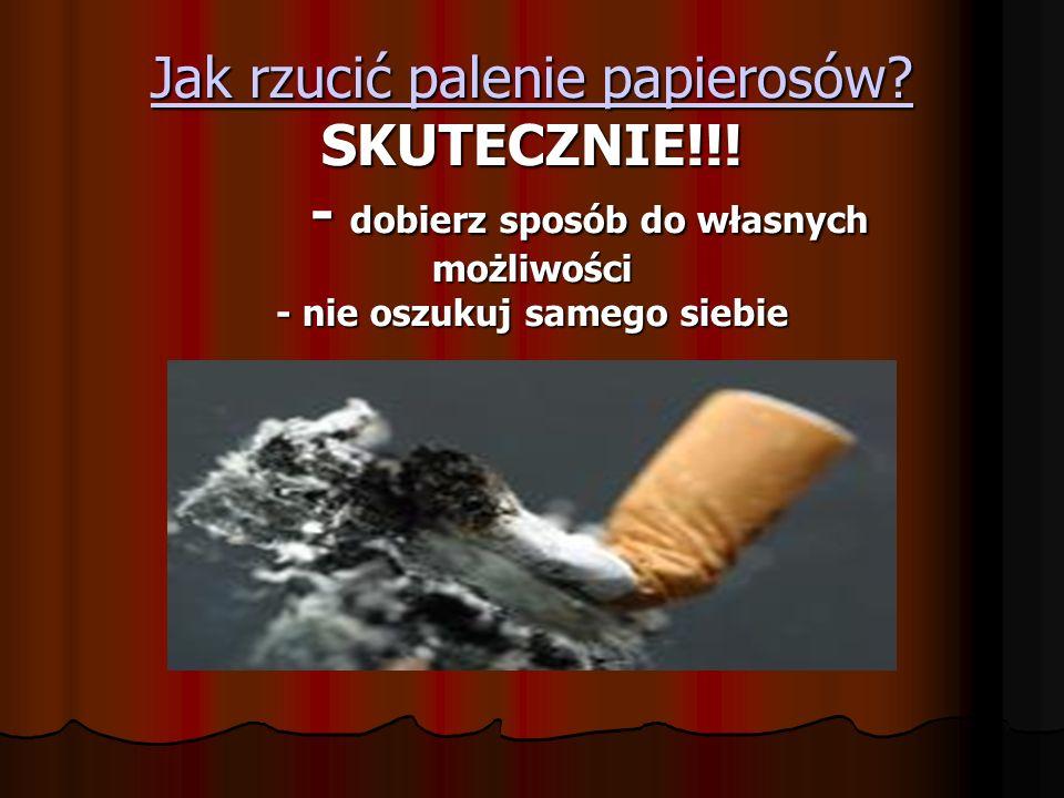 Jak rzucić palenie papierosów. Jak rzucić palenie papierosów.