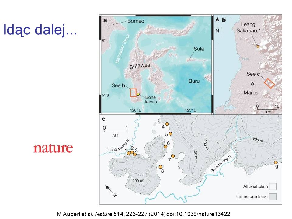 Idąc dalej... M Aubert et al. Nature 514, 223-227 (2014) doi:10.1038/nature13422