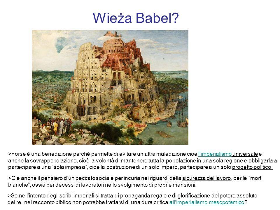 Wieża Babel.