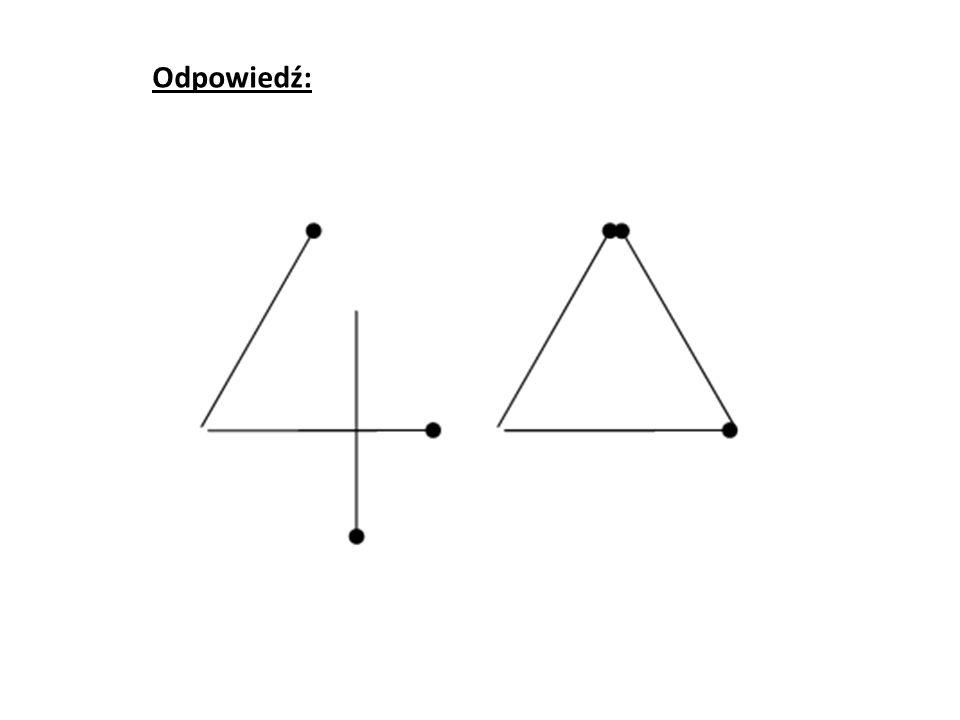 Przełóż 3 zapałki, tak aby poniższa równość była prawdziwa