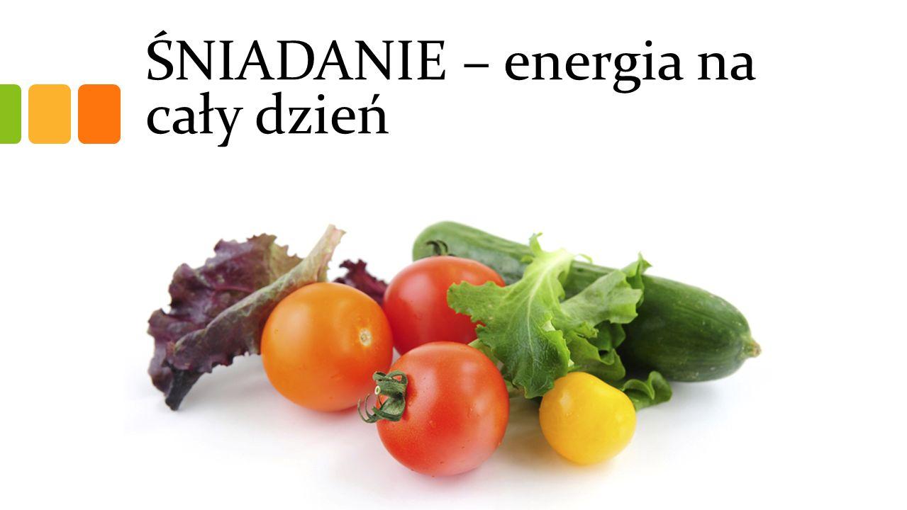ŚNIADANIE – energia na cały dzień