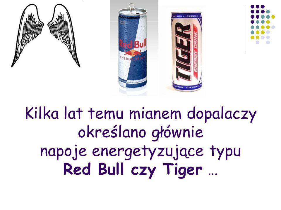 Kilka lat temu mianem dopalaczy określano głównie napoje energetyzujące typu Red Bull czy Tiger …